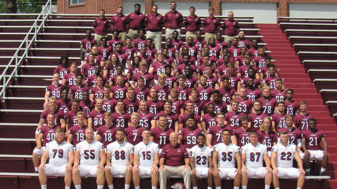 2018 Football Roster - Concord University Athletics